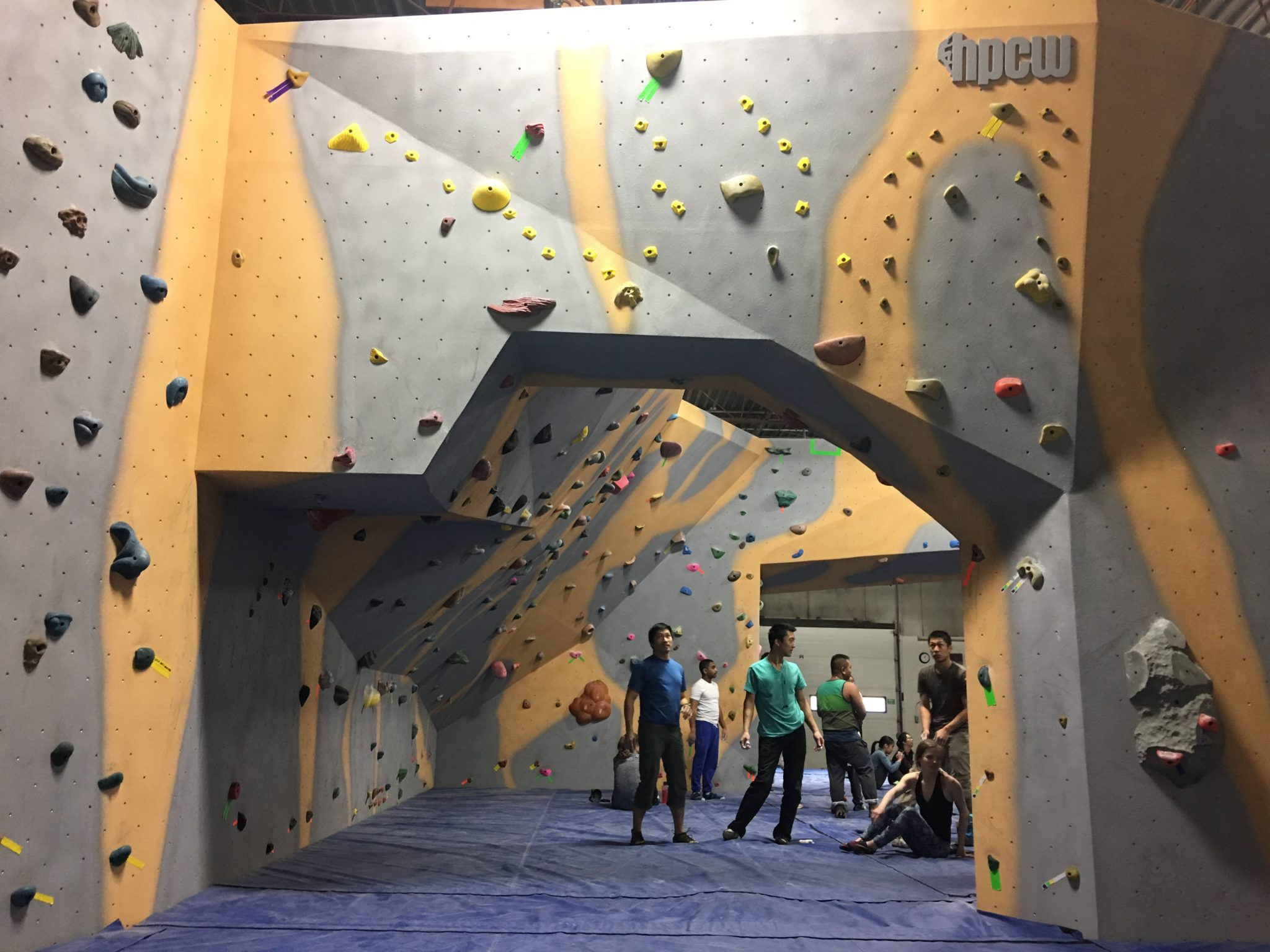 The Cave High Performance Climbing Walls